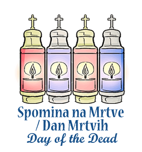Death clipart deceased. Slovenia day of the
