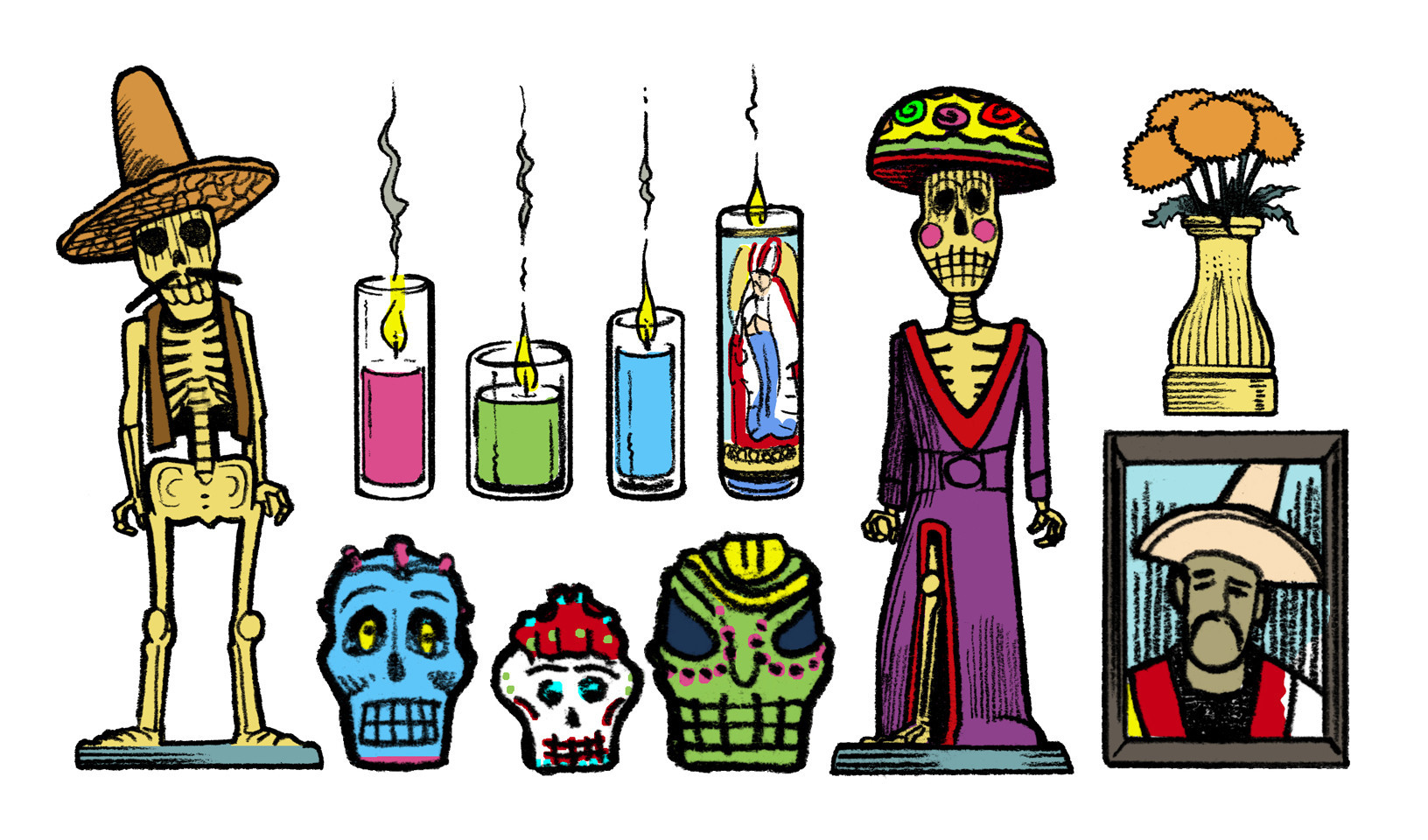 Death clipart deceased. Anatomy of a day