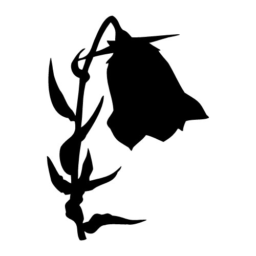 death clipart flower