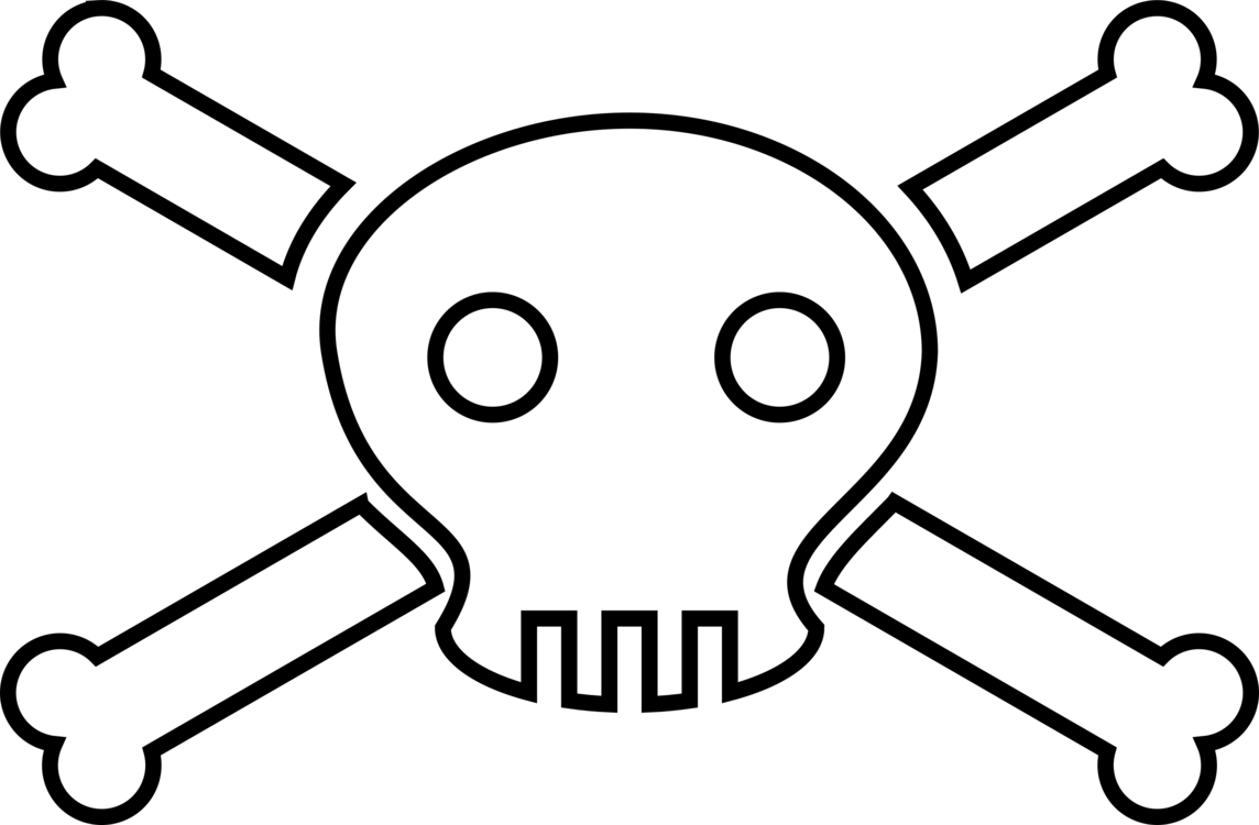 Death clipart lethal injection. Symbols of human skull