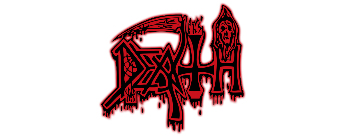 Death logo png. Logos embroidered gloves heavy