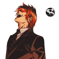 Light yagami png. Death note render animated