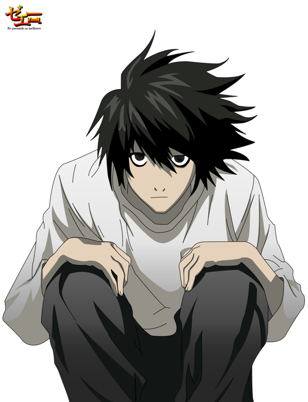 Death note light png. How is l from