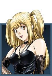 Image amane the blugarian. Death note misa png clipart black and white stock