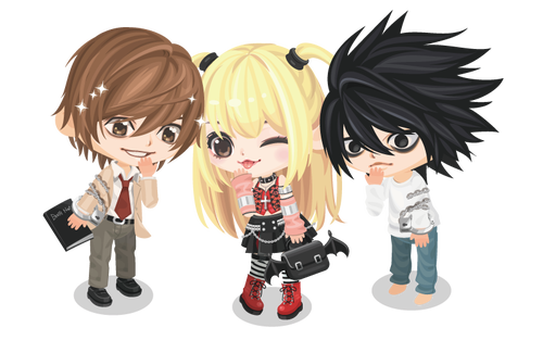 Image line play light. Death note misa png png royalty free stock