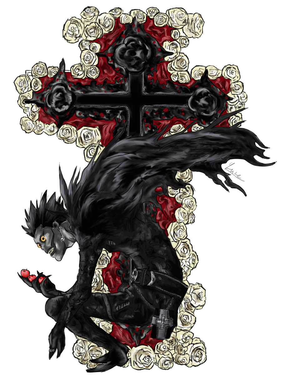 Death note ryuk png. Favourites by josephthered on