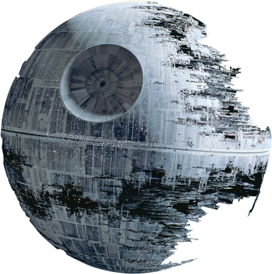 Death star wall png. Download ii render fathead