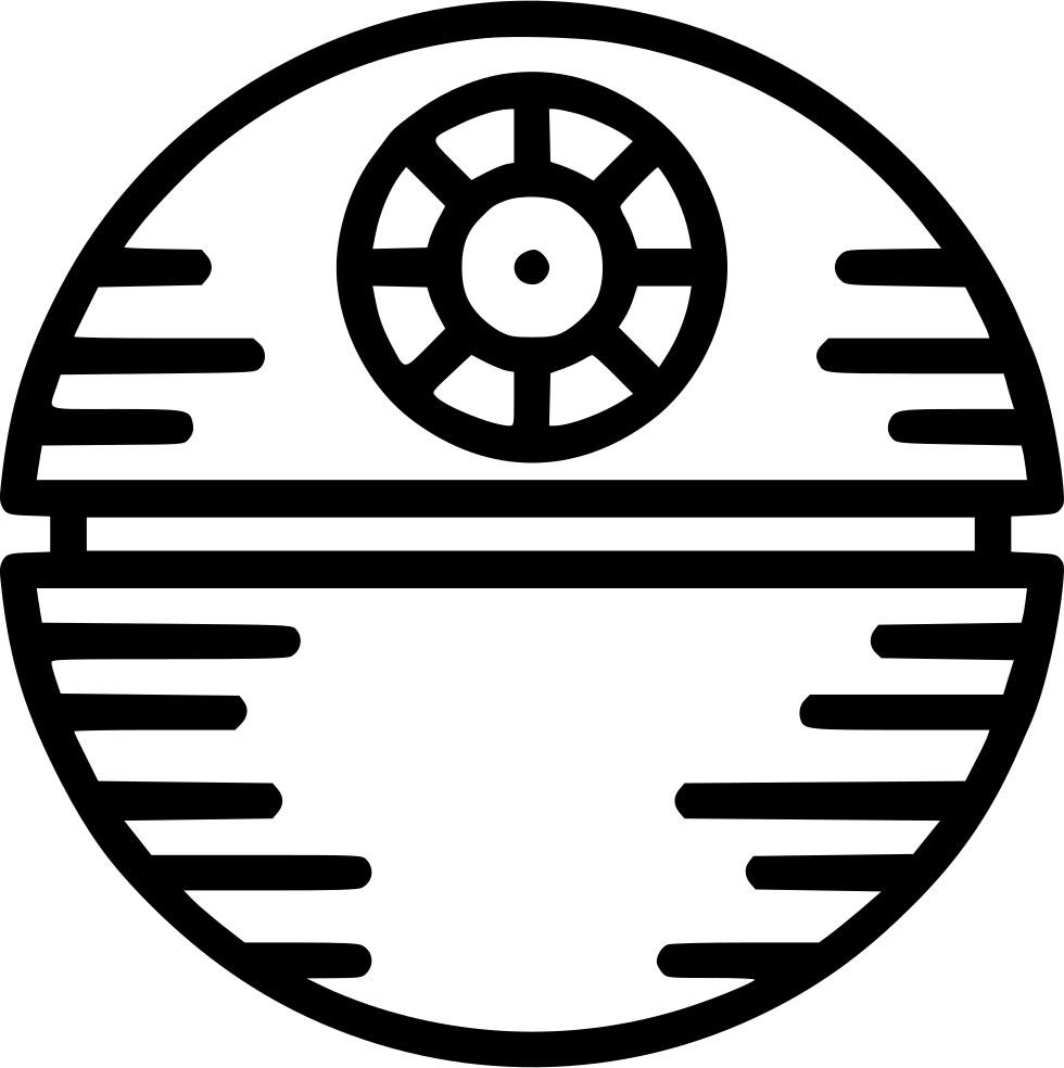 Death star vector png. Svg icon free download