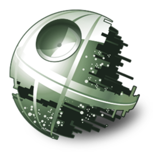 Deathstar vector. Death star icon free