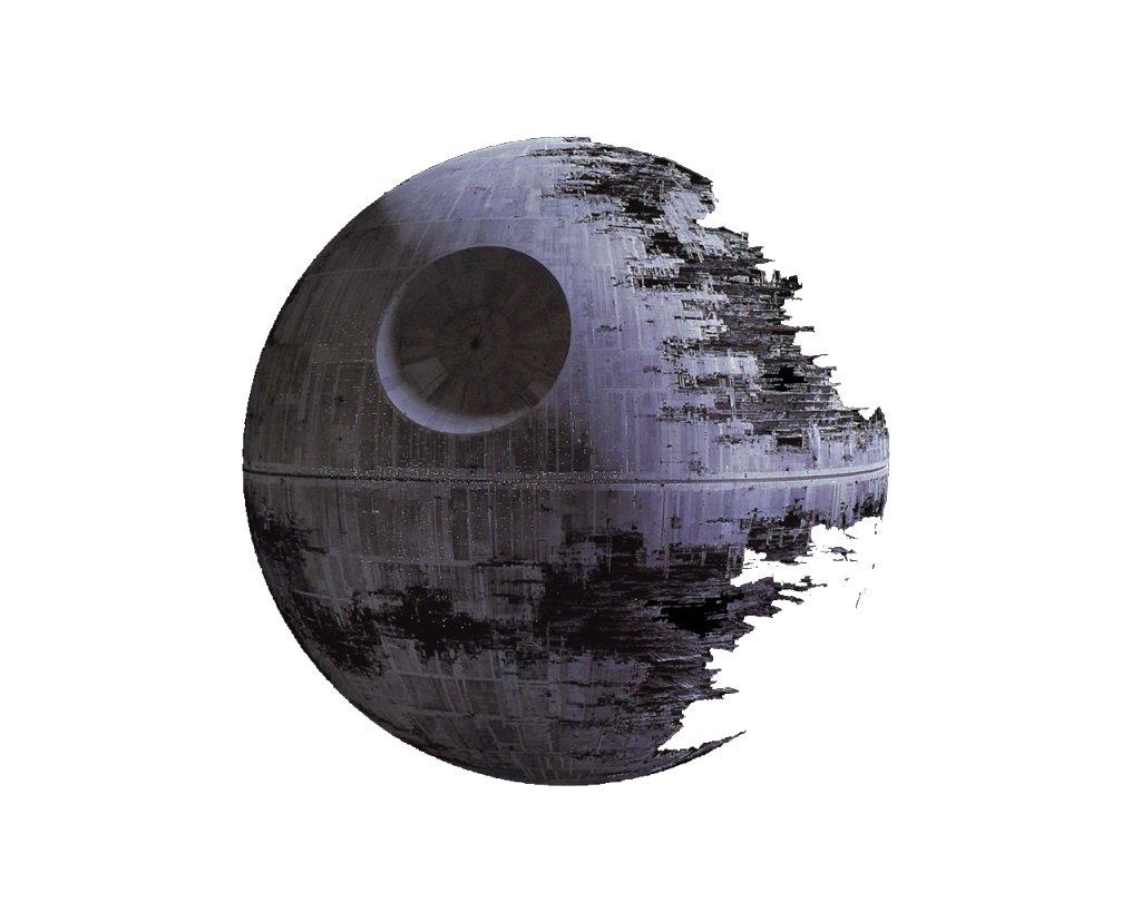 Death star png transparent. One with the force
