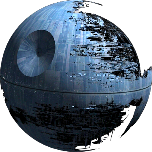 Death star png transparent. Wars psd official psds