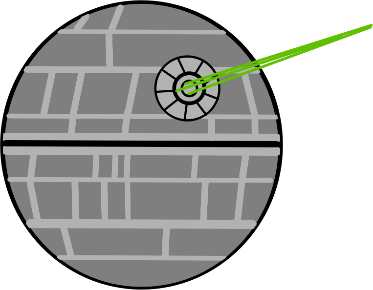 death star shooting png