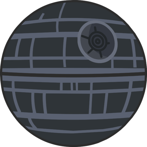 Death star shooting png. Pinterest trash compactors throne