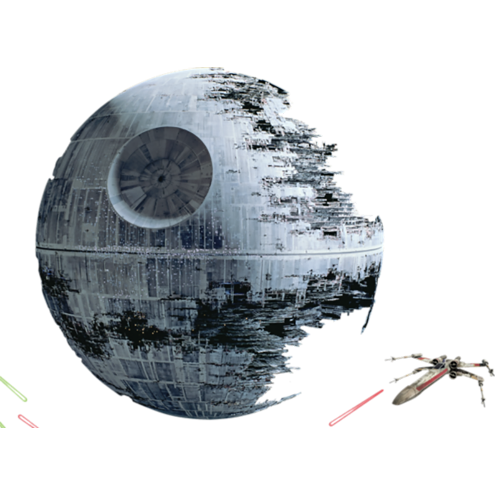 Death star wall png. Return of the jedi