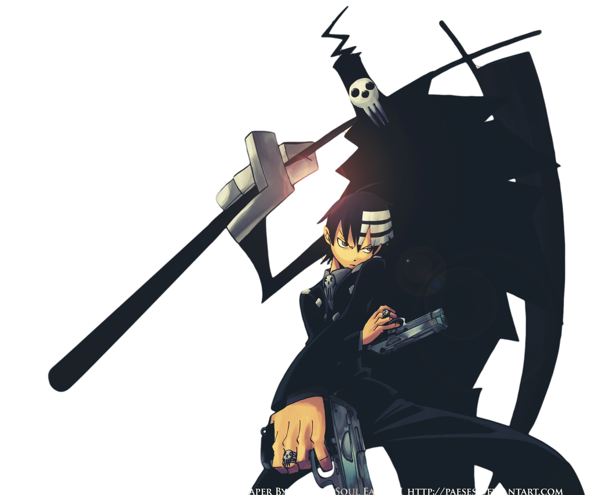 Death the kid png. Image background heroes wiki