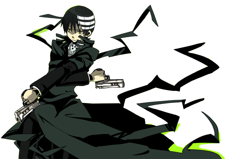 Death the kid png. Image playstation all stars