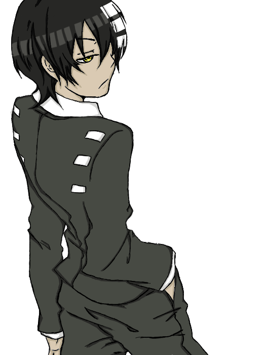 Death the kid png. By ejiputo on deviantart