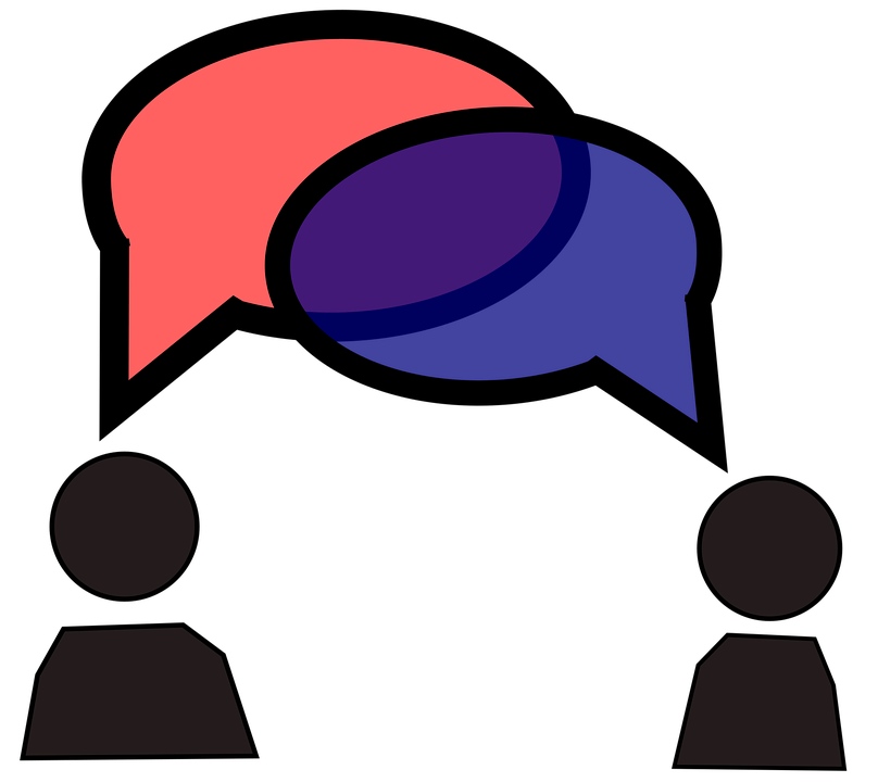 Debate clipart discourse. Difference between text and
