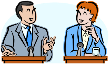 debate clipart discourse