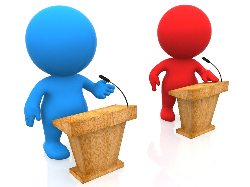 Debate clipart importance. The exchanging of political