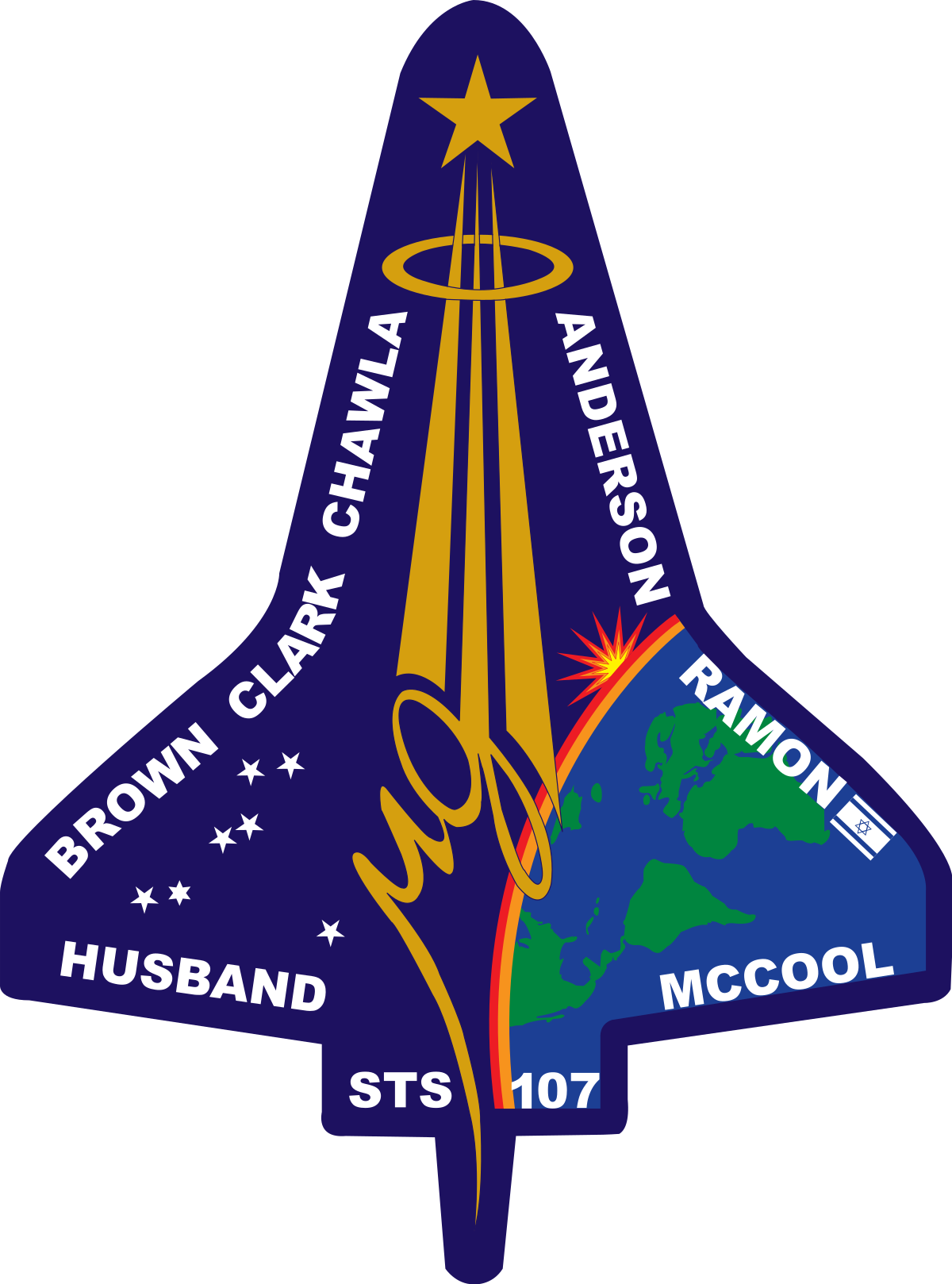 Debris falling png. Space shuttle columbia disaster
