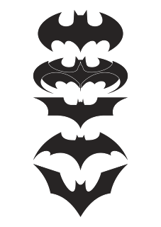 Decal vector. Logo download free batman