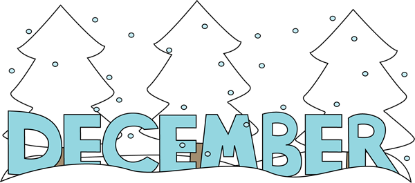 December clipart hello december. Free cliparts download clip