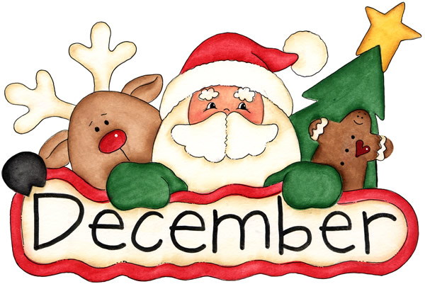 December clipart. Images free pictures and