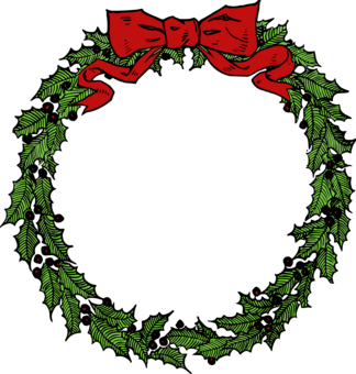 December clipart art. Free download for commercial