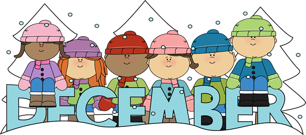 december clipart cute