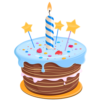 December clipart birthday cake. Png images funny happy