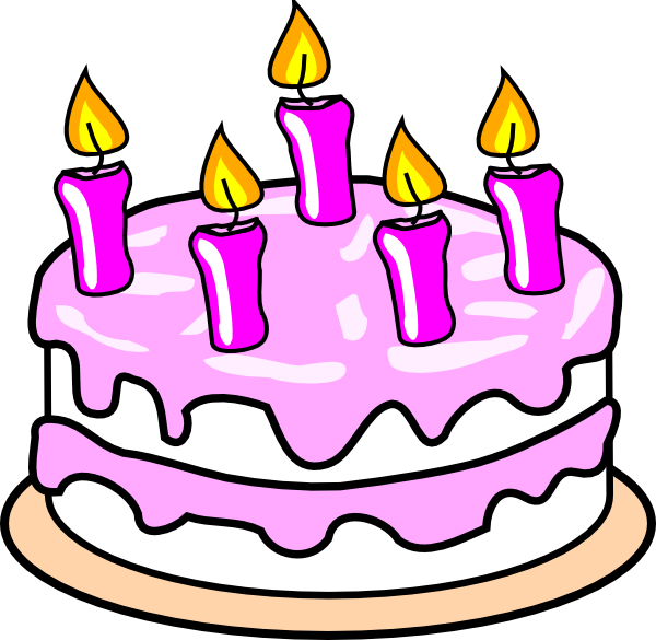 December clipart birthday cake. Clip art arts for
