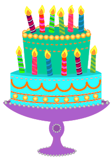Classroom treasures the following. December clipart birthday cake picture black and white library