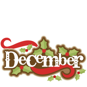 December clipart cute. Freebie of the day