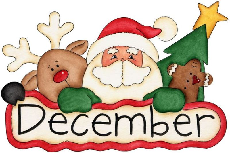 December clipart december 2016. Group images clipartxtras