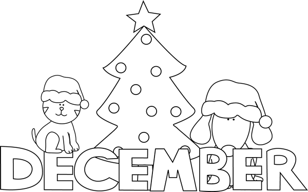 December clipart hello december. Free images download clip