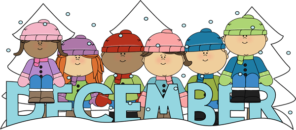 December clipart hello december. Junction winter