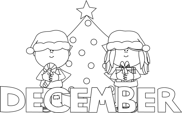 December clipart hello december. Free download clip art