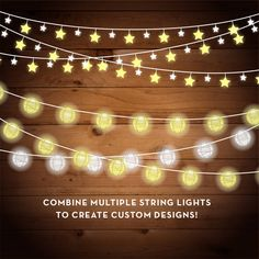 December clipart led light. Free string lights png