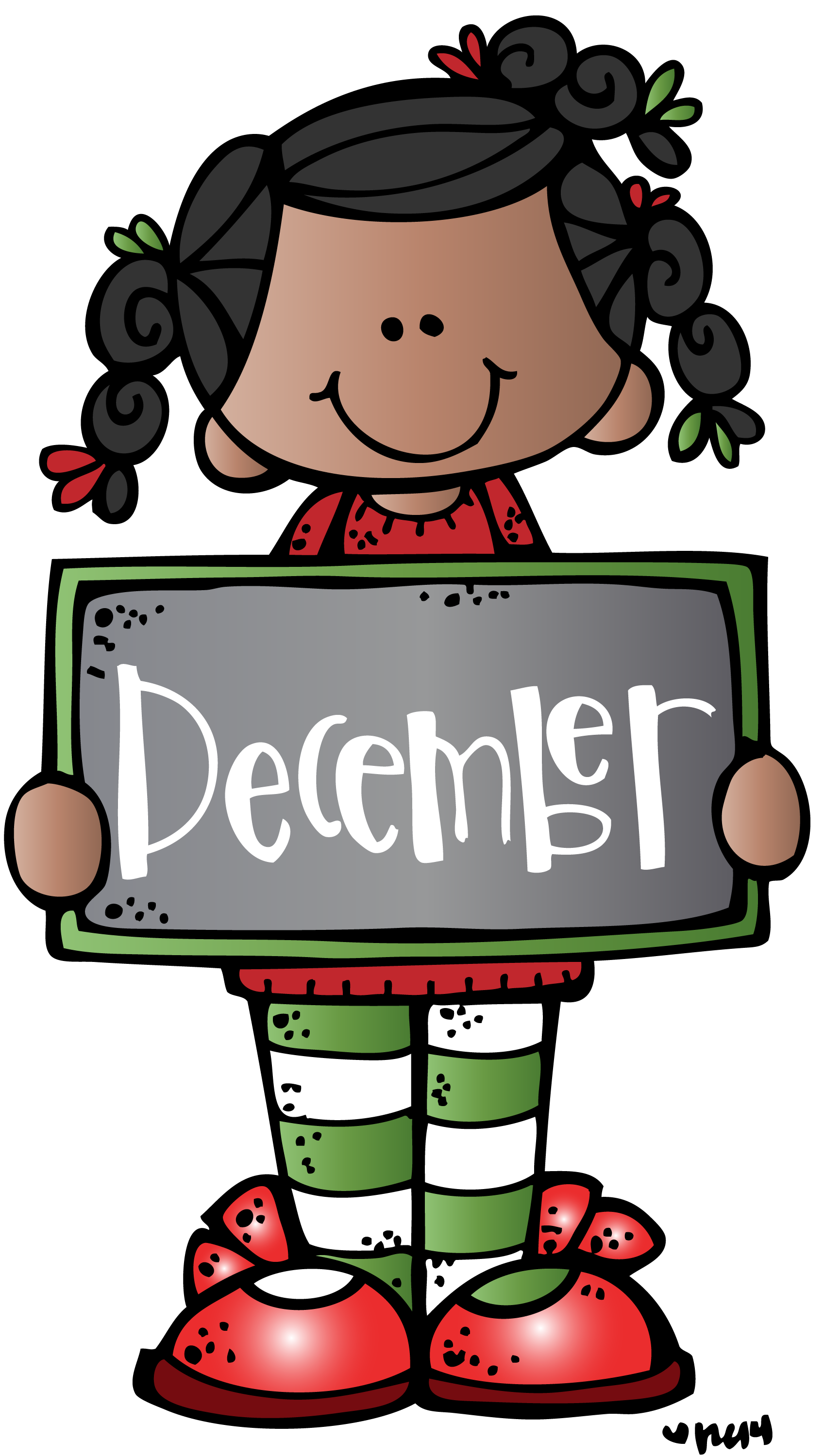 December clipart melonheadz. Mkb c illustrating llc