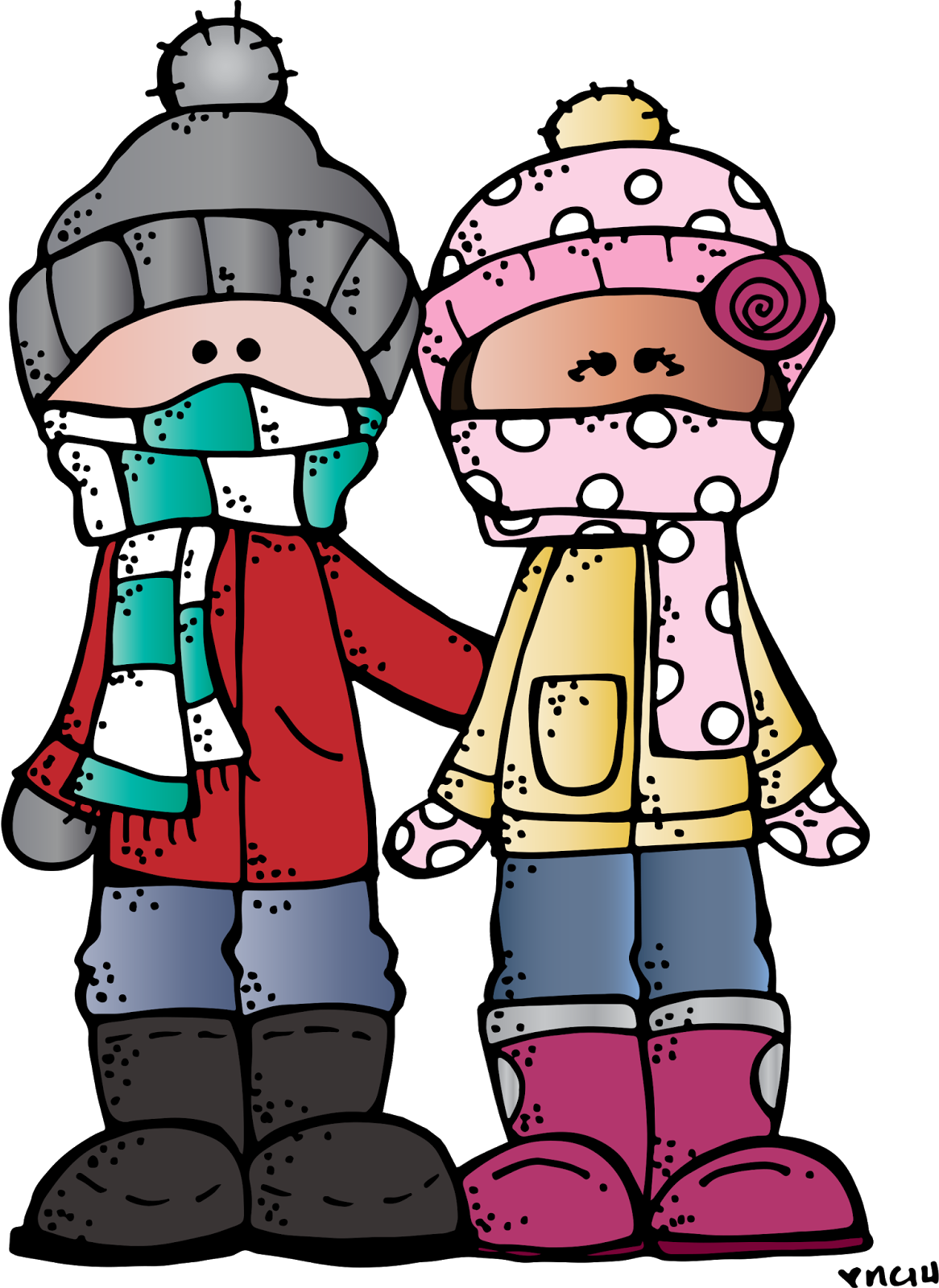 January clipart cold weather clothes. Free melonheadz penguin cliparts