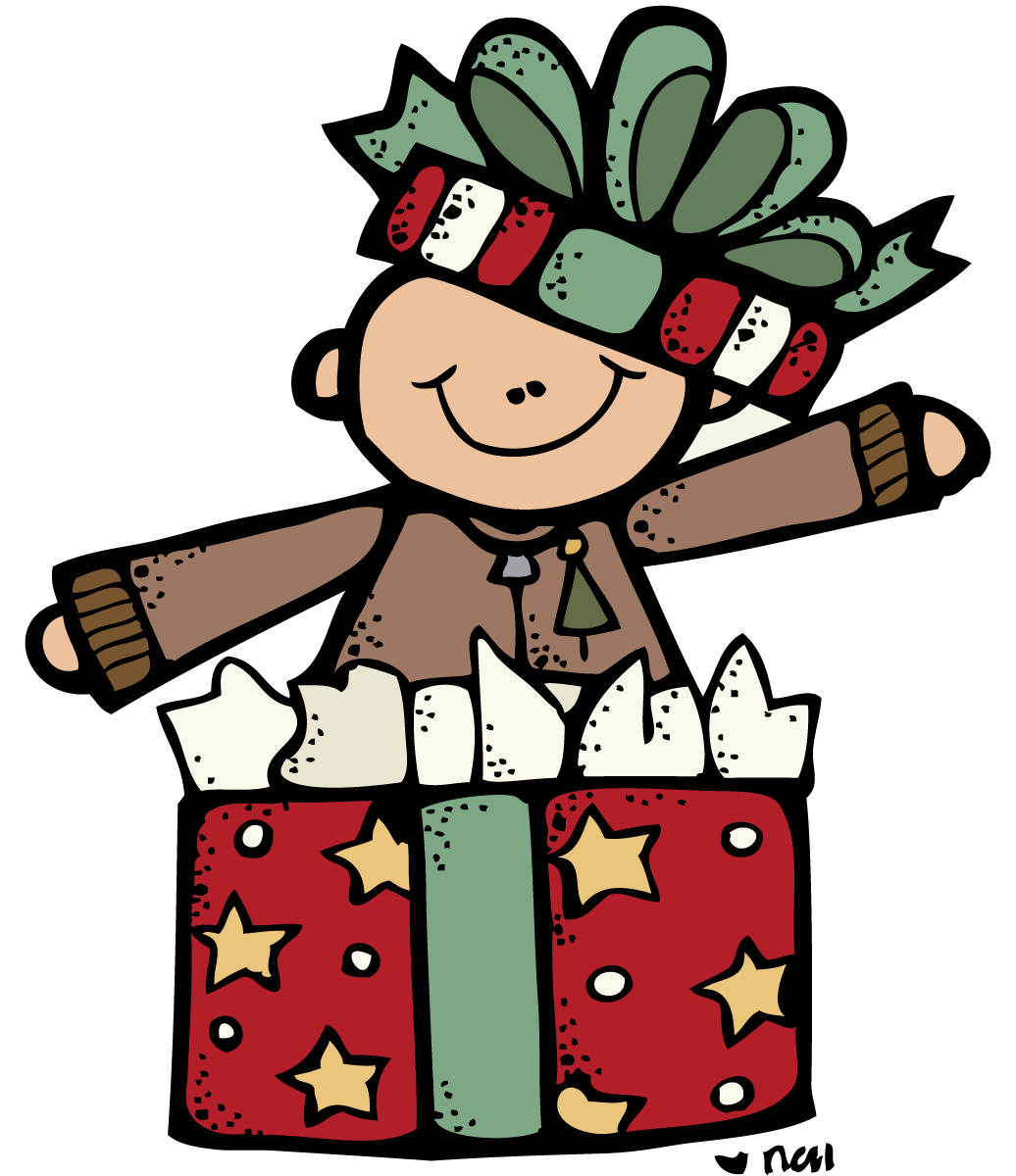 December clipart melonheadz. Christmas clip art saturday