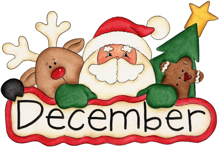 December clipart writing. Upcoming news charms addict