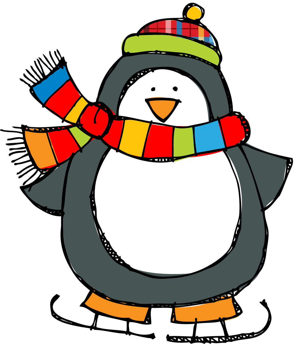 December clipart writing. Penguin poems panda free