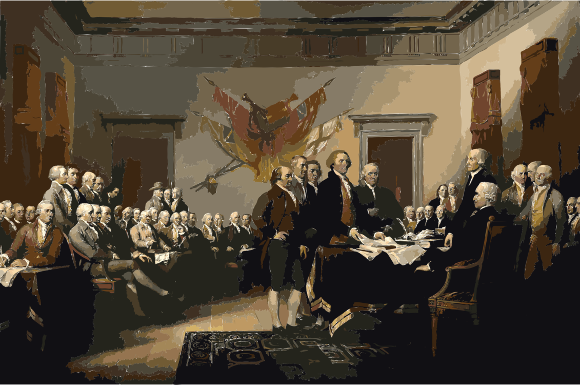 Declaration of independence clipart second continental congress. Signing the united states