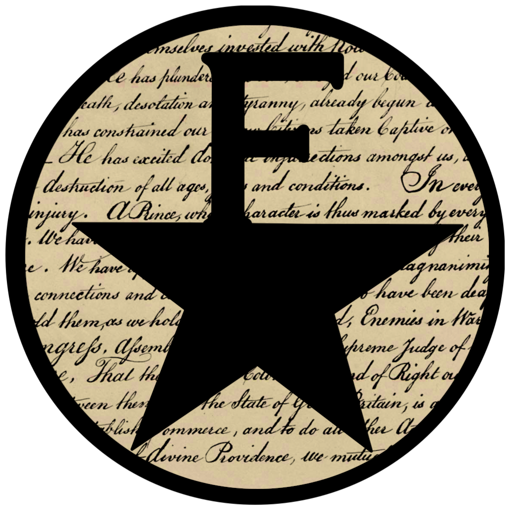 Declaration of independence clipart banner. Hamilton inspired freedom free