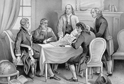 Declaration of independence clipart independance. Free and founding fathers