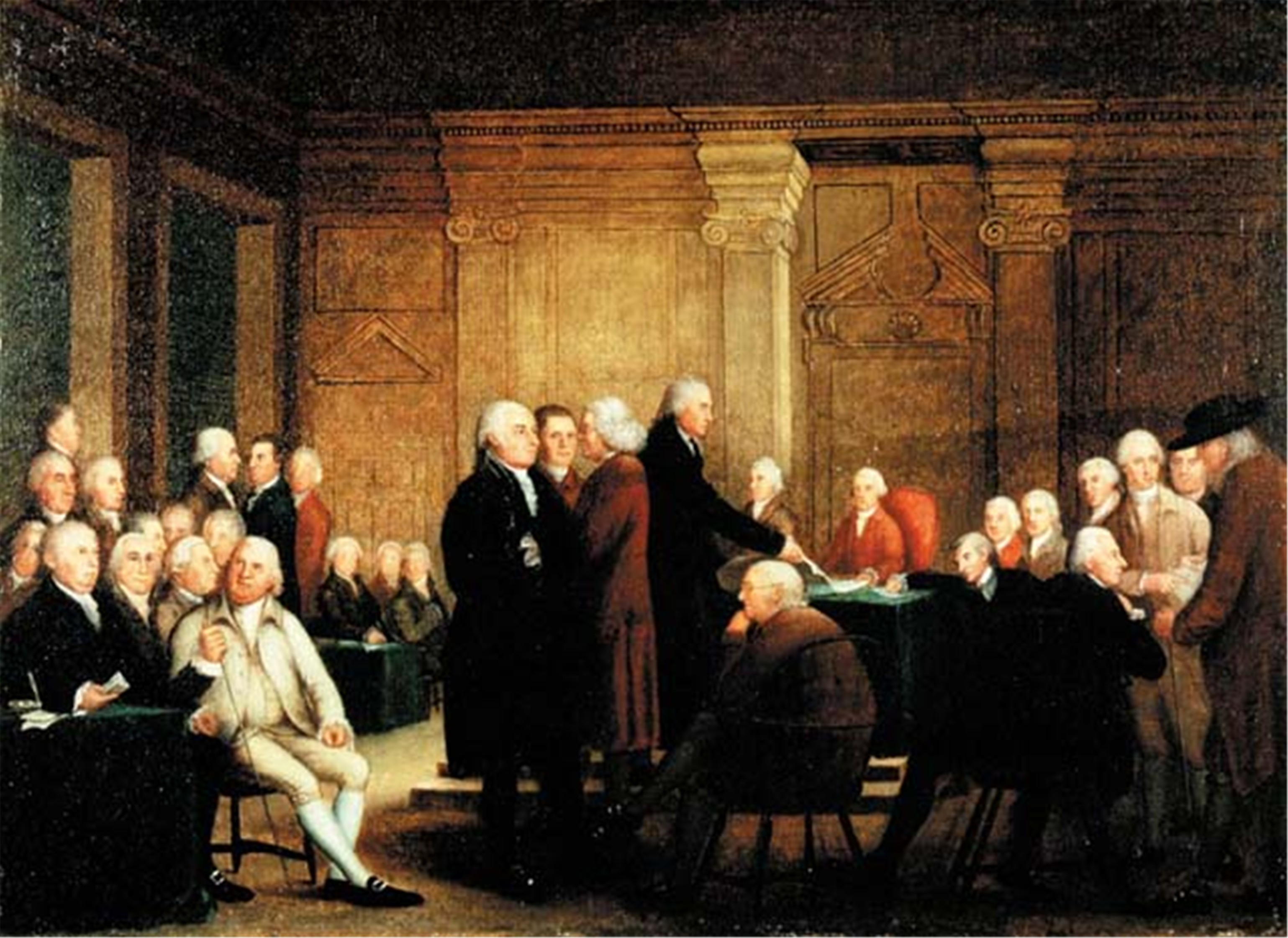 Declaration of independence clipart second continental congress. Bingo for patriots