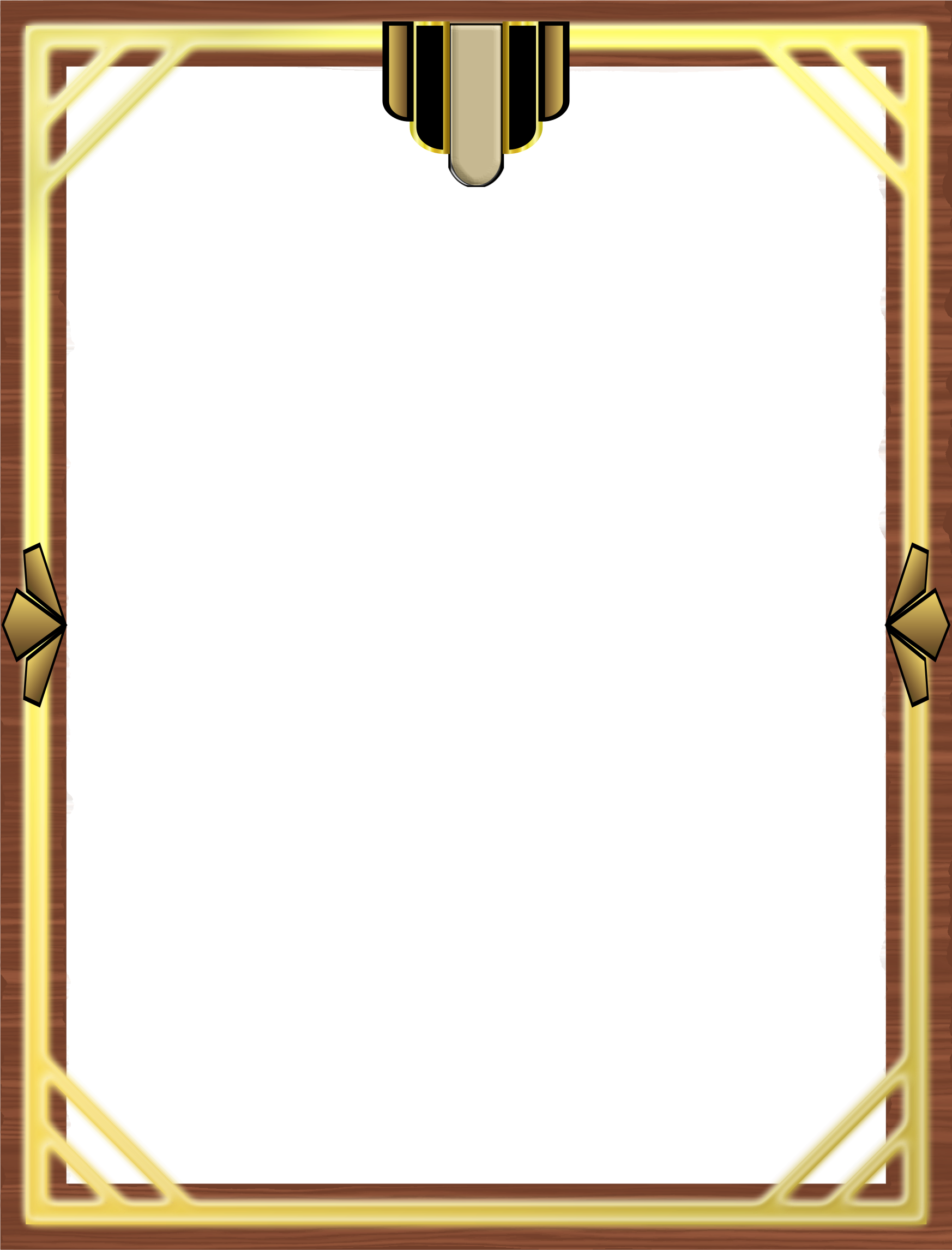 great gatsby border png