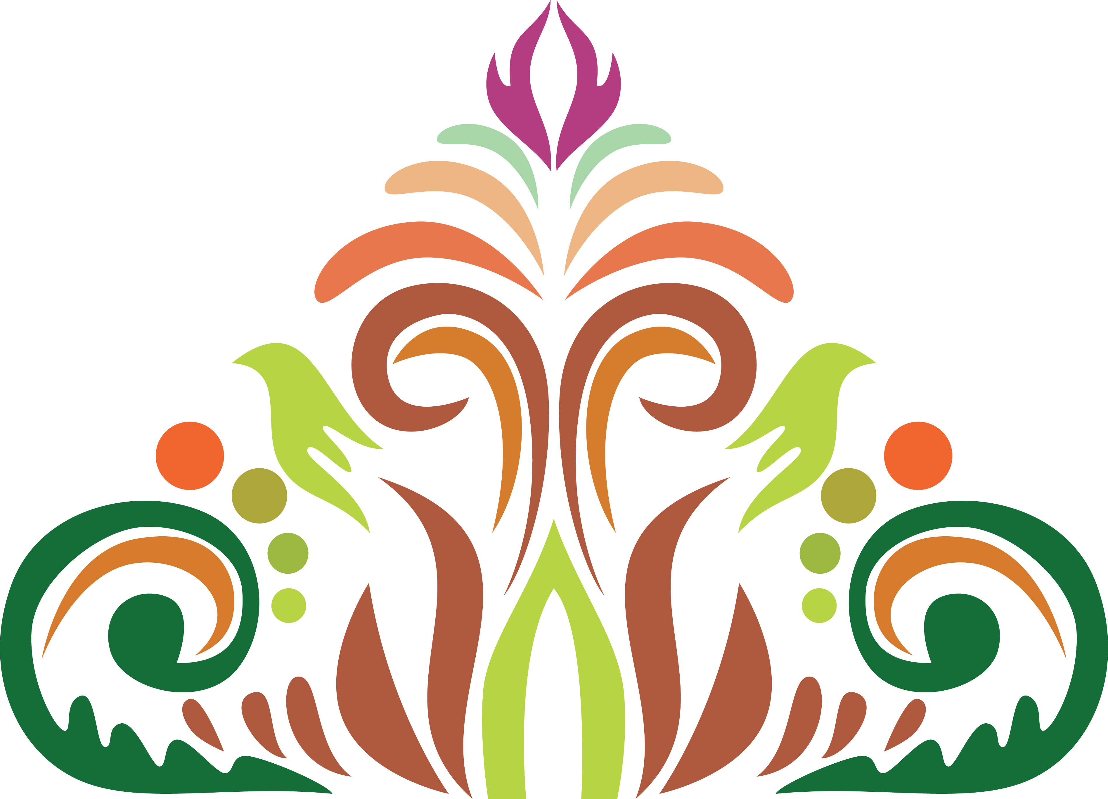 Decor vector alpona. Trinetra about free indian